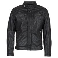 vaatteet Miehet Nahkatakit / Tekonahkatakit Esprit VARDA Black