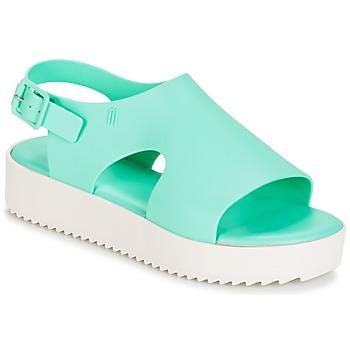 kengät Naiset Sandaalit ja avokkaat Melissa HOTNESS Green / White