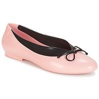 kengät Naiset Balleriinat Melissa JUST DANCE Vaaleanpunainen / Musta