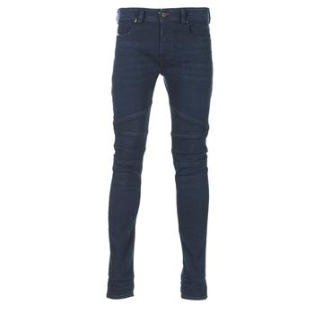 vaatteet Miehet Slim-farkut Diesel FOURK Blue