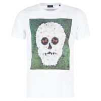 vaatteet Miehet Lyhythihainen t-paita Diesel JOE QM White