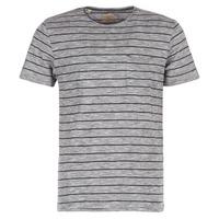 vaatteet Miehet Lyhythihainen t-paita Selected FINN Grey / Black