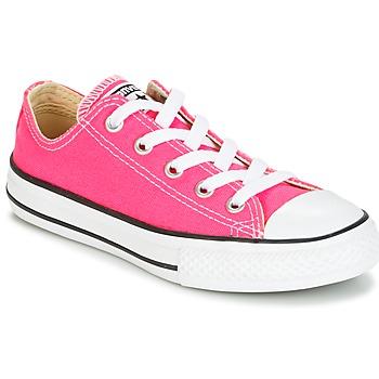 kengät Tytöt Matalavartiset tennarit Converse CHUCK TAYLOR ALL STAR SEASONAL OX PINK POW Pink