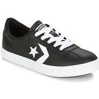 kengät Lapset Matalavartiset tennarit Converse BREAKPOINT FOUNDATIONAL LEATHER BP OX BLACK/WHITE/BLACK Black / White