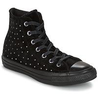 kengät Naiset Korkeavartiset tennarit Converse CHUCK TAYLOR ALL STAR HI Musta