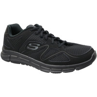 kengät Miehet Matalavartiset tennarit Skechers Satisfaction 58350-BBK
