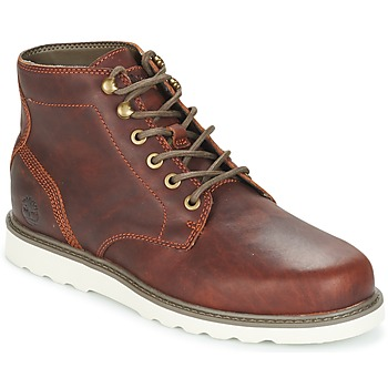 kengät Miehet Bootsit Timberland NEWMARKET LUG PT CHUKKA Brown