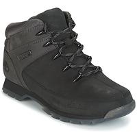 kengät Miehet Bootsit Timberland EURO SPRINT HIKER Black / Grey