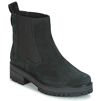 kengät Naiset Bootsit Timberland COURMAYER VALLEY CHELSEA Black