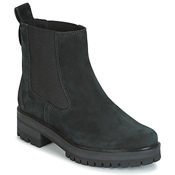 kengät Naiset Bootsit Timberland COURMAYER VALLEY CHELSEA Musta