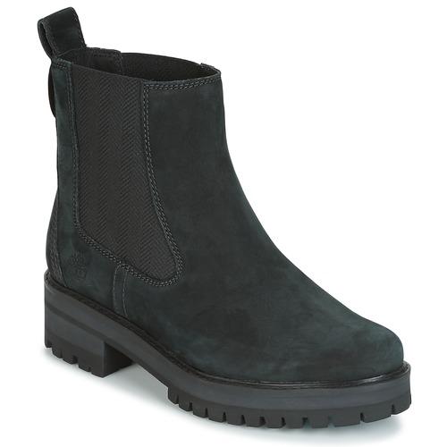 kengät Naiset Bootsit Timberland COURMAYER VALLEY CHELSEA Black