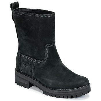 kengät Naiset Saappaat Timberland COURMAYEUR VALLEY MID Black