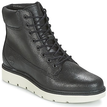 kengät Naiset Korkeavartiset tennarit Timberland KENNISTON 6IN LACE UP Black