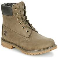 kengät Naiset Bootsit Timberland 6IN PREMIUM BOOT - W Canteen / Brown