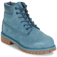 kengät Lapset Bootsit Timberland 6 IN PREMIUM WP BOOT Blue