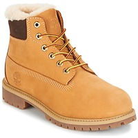 kengät Lapset Bootsit Timberland 6 IN PRMWPSHEARLING LINED Camel