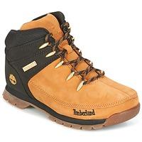 kengät Lapset Bootsit Timberland EURO SPRINT Ruskea