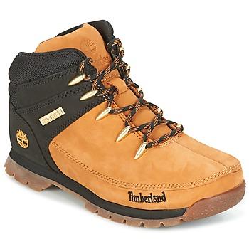 kengät Lapset Bootsit Timberland EURO SPRINT Brown