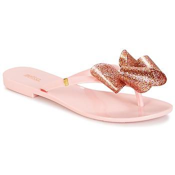 kengät Naiset Varvassandaalit Melissa HARMONIC TARTAN AD Pink