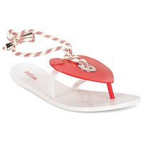 kengät Naiset Varvassandaalit Melissa BLISS II SP AD White / Red