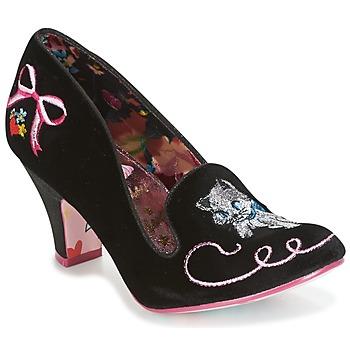 kengät Naiset Korkokengät Irregular Choice FUZZY PEG Black