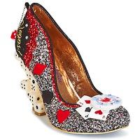 kengät Naiset Korkokengät Irregular Choice LAS VEGAS Argenté / Black