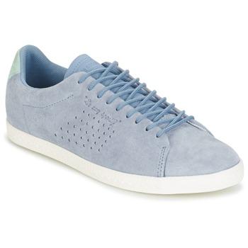kengät Naiset Matalavartiset tennarit Le Coq Sportif CHARLINE NUBUCK Blue