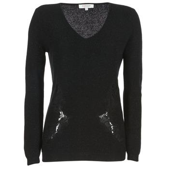 vaatteet Naiset Neulepusero Morgan MDAN Black