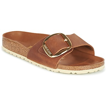 kengät Naiset Sandaalit Birkenstock MADRID BIG BUCKLE Brown