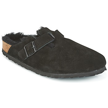 kengät Naiset Puukengät Birkenstock BOSTON Black