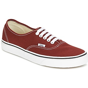 kengät Matalavartiset tennarit Vans AUTHENTIC Red