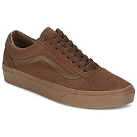 kengät Miehet Matalavartiset tennarit Vans OLD SKOOL Brown