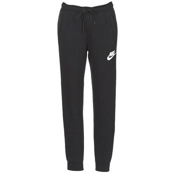 vaatteet Naiset Verryttelyhousut Nike RALLY PANT Black / White