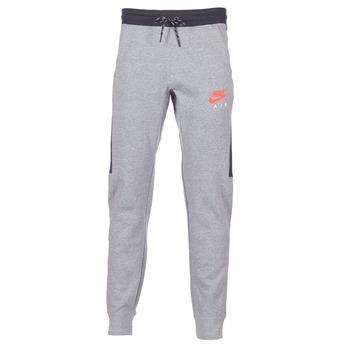 vaatteet Miehet Verryttelyhousut Nike AIR JOGGER FLEECE Grey / Red