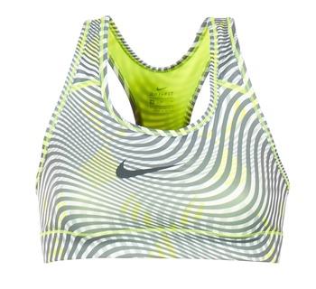 vaatteet Naiset Urheiluliivit Nike NIKE PRO CLASSIC BRA Yellow / Grey