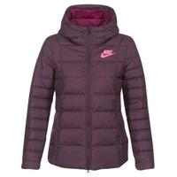 vaatteet Naiset Toppatakki Nike DOWN FILL JKT Bordeaux / Pink