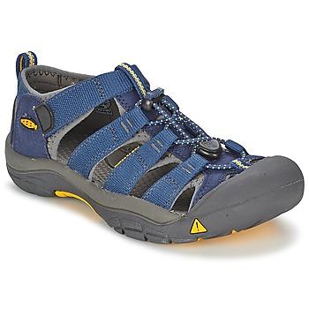 kengät Pojat Urheilusandaalit Keen KIDS NEWPORT H2 Blue / Grey