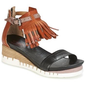 kengät Naiset Sandaalit ja avokkaat Airstep / A.S.98 YVES Brown / Black