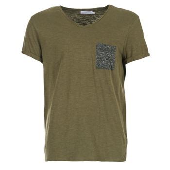 vaatteet Miehet Lyhythihainen t-paita Eleven Paris ABICO Kaki