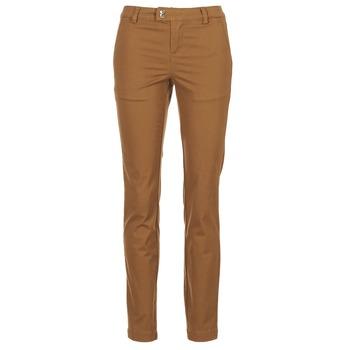 vaatteet Naiset 5-taskuiset housut LPB Shoes CHINAI Cognac