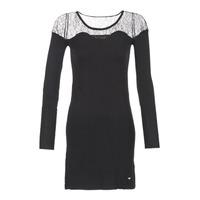 vaatteet Naiset Lyhyt mekko Les Petites Bombes DARTO Musta