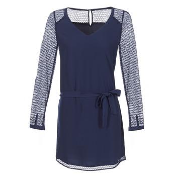 vaatteet Naiset Lyhyt mekko Les P'tites Bombes MALIS Laivastonsininen