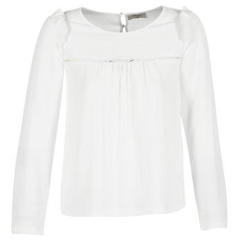 vaatteet Naiset Topit / Puserot Betty London HAMONE Ecru