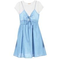 vaatteet Naiset Lyhyt mekko Moony Mood GLAM Sininen