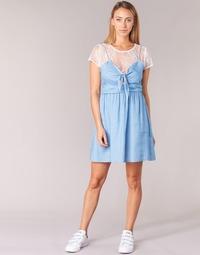 vaatteet Naiset Lyhyt mekko Moony Mood GLAM Blue