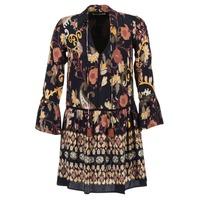 vaatteet Naiset Lyhyt mekko Derhy DEGUSTATION Black / Monivärinen