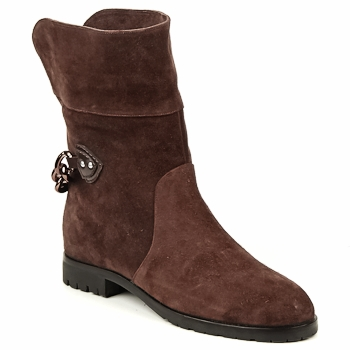 kengät Naiset Bootsit Marc Jacobs CHAIN BOOTS Brown
