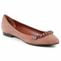 kengät Naiset Balleriinat Marc Jacobs CHAIN BABIES Ruskea