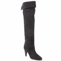 kengät Naiset Ylipolvensaappaat Veronique Branquinho LIBERIUS Black