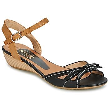 kengät Naiset Sandaalit ja avokkaat Spot on  MUSTA